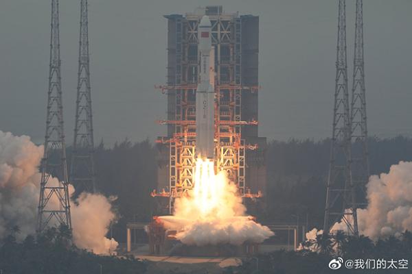 Китай запустил новую ракету с секретным спутником